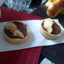 Tartelette chocolat banane