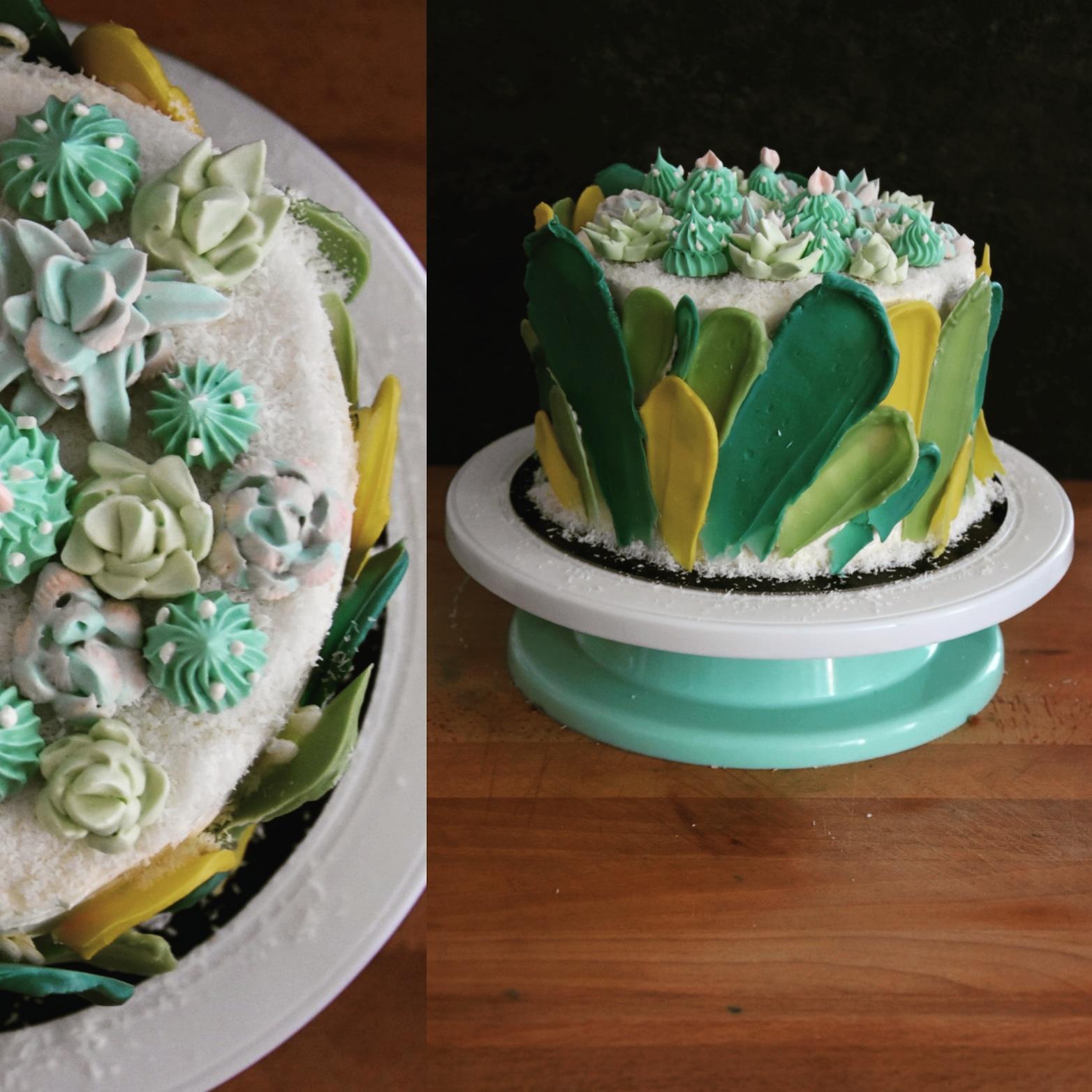 layer cake passion coco cactus