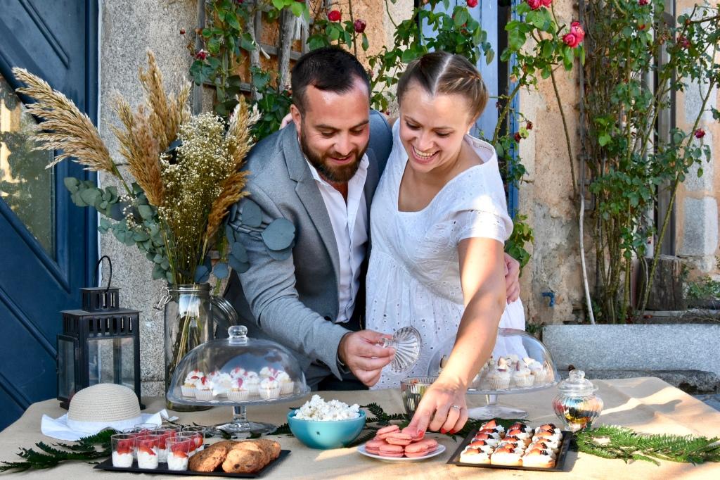 buffet mariage pâtisserie jungle thé Castres
