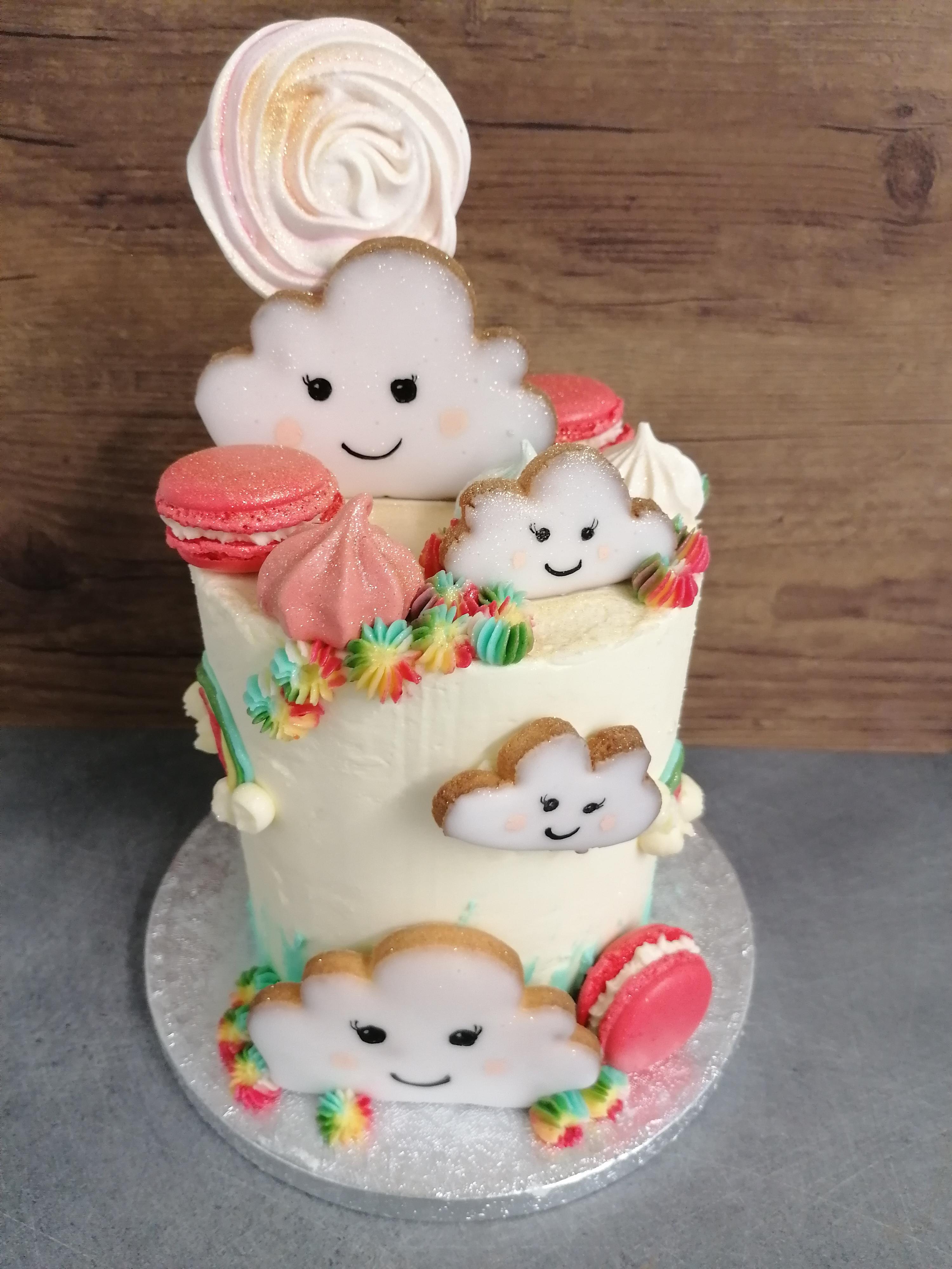 Jungle Thé pâtisserie layer cake