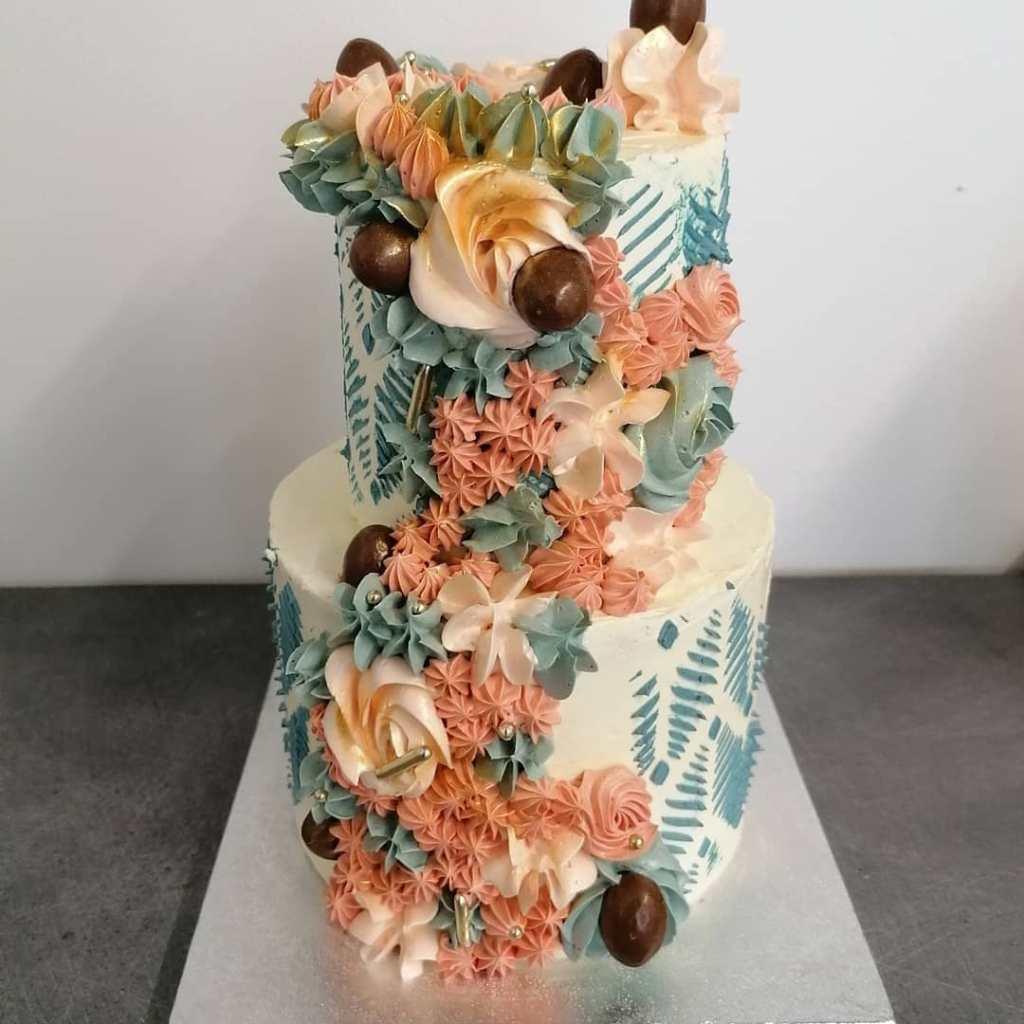 Wedding cake mariage pâtisserie jungle thé Castres